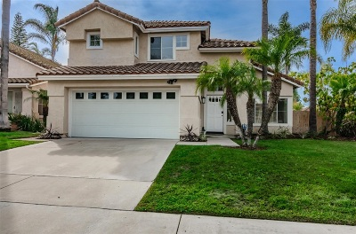 Oceanside Single Family Home For Sale: 740 Mosaic Cir