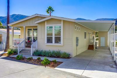 Escondido Mobile/Manufactured For Sale: 8975 Lawrence Welk Dr #74