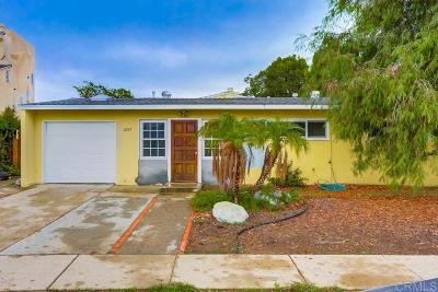 Clairemont, Clairemont East, Clairemont Mesa, Clairemont Mesa East Single Family Home For Sale: 4207 Feather Ave
