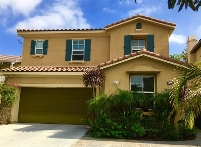 Carlsbad Single Family Home For Sale: 3430 Filoli Circle