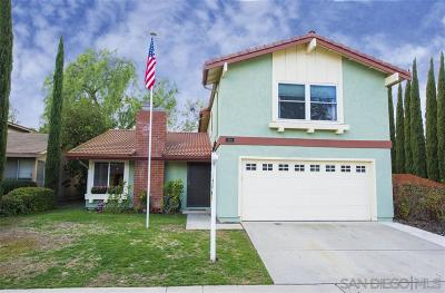 Rancho Penasquitos, Rancho Penesquitos Single Family Home For Sale: 15194 Amalia St
