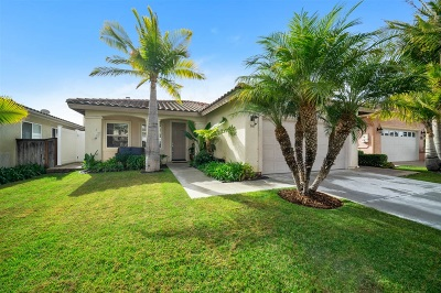 Chula Vista Single Family Home For Sale: 865 Diamond Drive