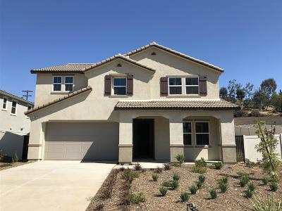 Escondido Single Family Home For Sale: 1909 Spur Court