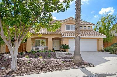Oceanside Single Family Home For Sale: 3349 Ricewood