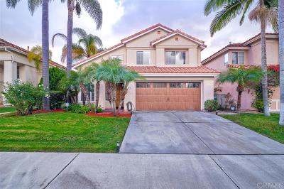 Carlsbad Single Family Home Sold: 2307 Terraza Ribera