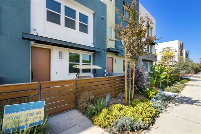 Chula Vista Townhouse For Sale: 49 Sea Crest Drive