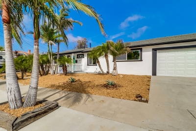 Clairemont, Clairemont East, Clairemont Mesa, Clairemont Mesa East Single Family Home For Sale: 4255 Feather Ave