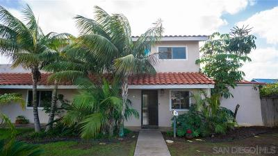 Single Family Home For Sale: 591 Imperial Beach Blvd