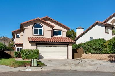 el cajon Single Family Home For Sale: 11638 Via Isabel