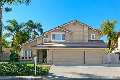 Poway Single Family Home For Sale: 14650 Silverset St