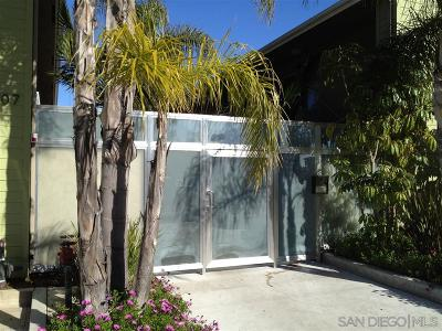 San Diego Attached For Sale: 3907 Georgia Street #17
