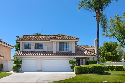 Riverside County Single Family Home For Sale: 30051 Corte Tolano