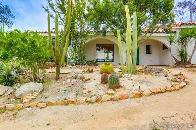 Escondido Single Family Home For Sale: 3090 Cordrey Dr.