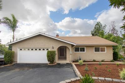 Vista Single Family Home For Sale: 2291 Mira Sol Dr