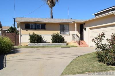 Single Family Home For Sale: 4984 Elm St