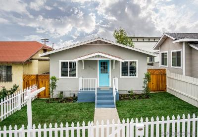 San Diego Single Family Home Sold: 834 30th St