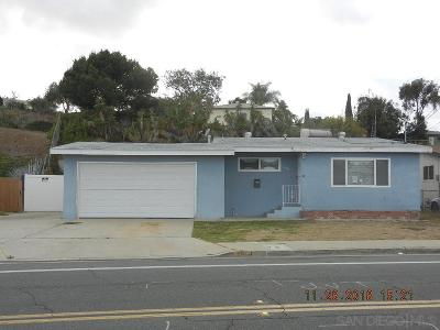 San Diego Single Family Home For Sale: 2474 Calle Tres Lomas