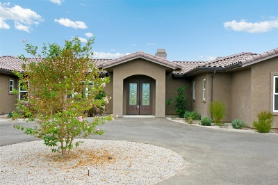 Valley Center Single Family Home For Sale: 30811 Hilltop View Court