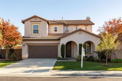 Riverside County Single Family Home For Sale: 44973 Checkerbloom Dr.