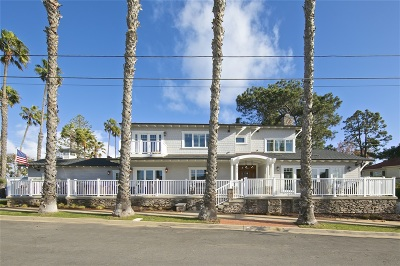 San Diego CA Single Family Home For Sale: $1,895,000