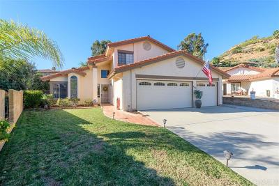 Escondido Single Family Home For Sale: 741 Springlake Pl