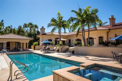 Rancho Santa Fe Rental For Rent: 17547 Avenida Peregrina