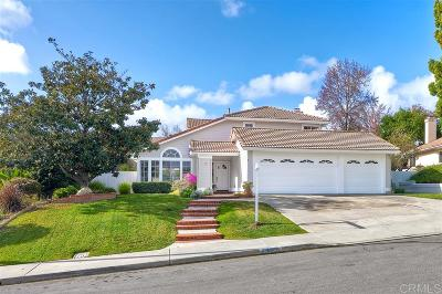 Carlsbad CA Single Family Home For Sale: $949,000