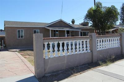 Single Family Home For Sale: 3333 Helix St.