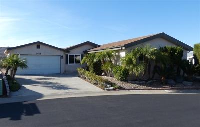 Oceanside Single Family Home For Sale: 1473 Salem Ct