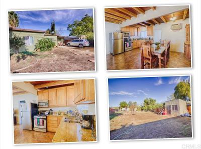 Escondido CA Single Family Home For Sale: $379,000