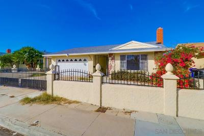 San Diego Single Family Home For Sale: 4370 Powderhorn Dr