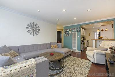 San Diego Attached For Sale: 4633 Bancroft Street 4