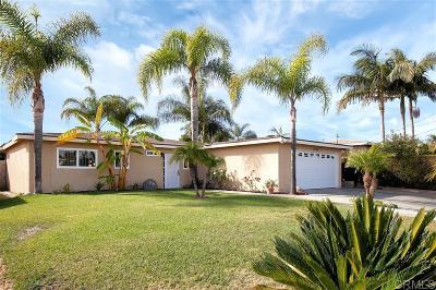 Single Family Home For Sale: 3925 Grandon Ave