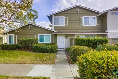 Oceanside Townhouse For Sale: 804 Stillwater Cove Way