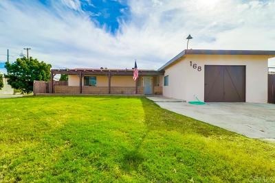 Chula Vista Single Family Home For Sale: 168 E Quintard Street