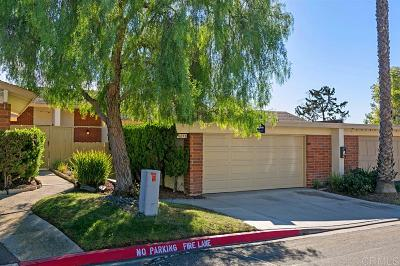 Oceanside Townhouse For Sale: 3603 Harvard Dr #B