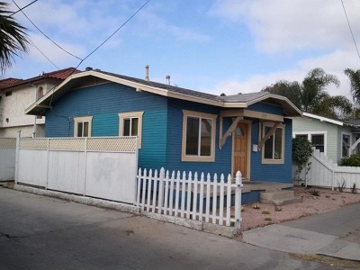San Diego Single Family Home For Sale: 2919 Polk