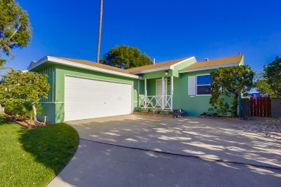San Diego Single Family Home For Sale: 4911 Twain Ave