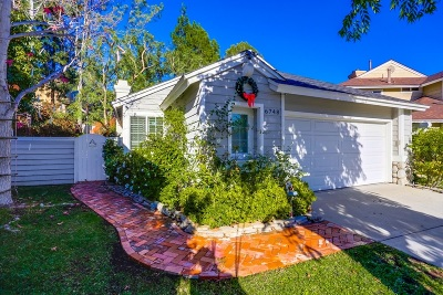 Carlsbad Single Family Home For Sale: 6748 Paseo Del Vista