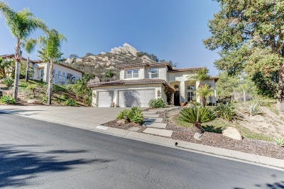 Single Family Home For Sale: 16788 Vista Summit