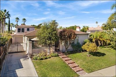 Talmadge, Talmadge/College Area Single Family Home For Sale: 4742 Constance Dr.