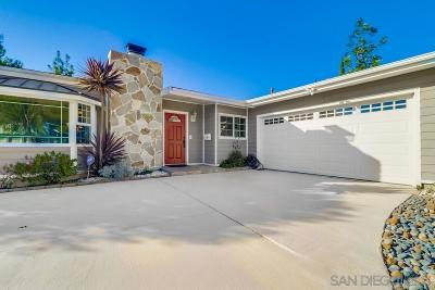 San Diego Single Family Home For Sale: 2348 Greenwing Drive