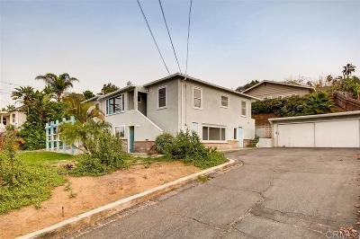 Vista Multi Family 2-4 For Sale: 351 Eucalyptus Avenue