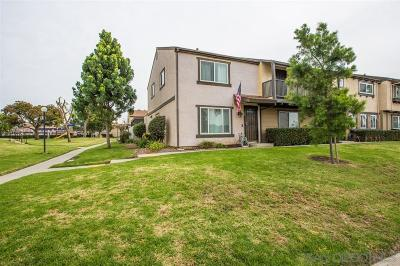 Santee Townhouse For Sale: 9555 Cottonwood Ave #A