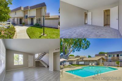Santee Townhouse For Sale: 10027 Santana Ranch