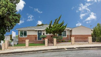 San Diego Single Family Home For Sale: 350 Las Flores Terrace