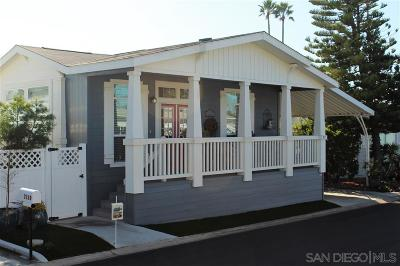 Carlsbad Mobile/Manufactured For Sale: 7117 Santa Cruz #83