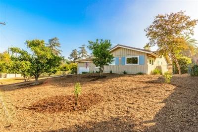 Escondido CA Single Family Home For Sale: $574,900