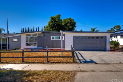 Chula Vista Single Family Home For Sale: 608 Vista Way