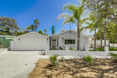 Clairemont, Clairemont East, Clairemont Mesa, Clairemont Mesa East Single Family Home For Sale: 3509 Marlesta Dr